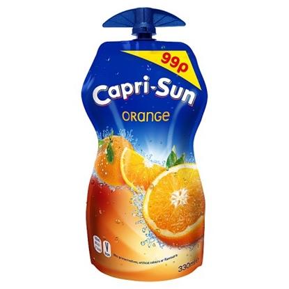 Picture of PM 99P CAPRI SUN ORANGE 330ML X 15
