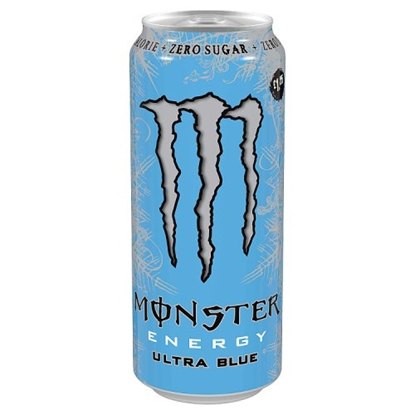 Picture of PM £1.35 MONSTER ULTRA BLUE 500ML X 12
