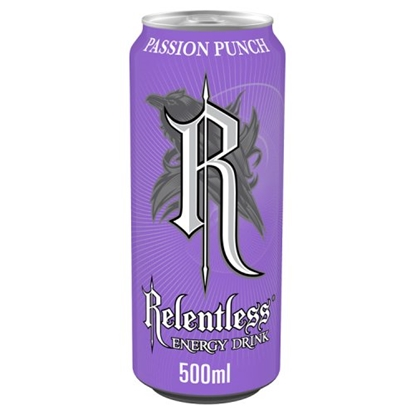 Picture of RELENTLESS PASSION PUNCH 500ML x 12
