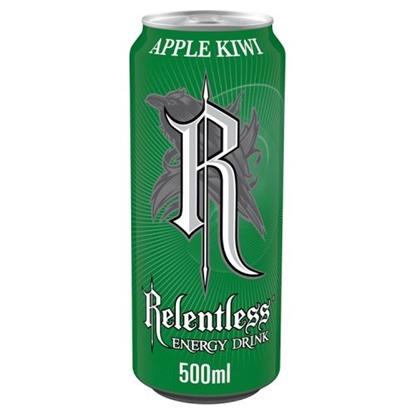 Picture of RELENTLESS APPLE & KIWI 500ML  x 12