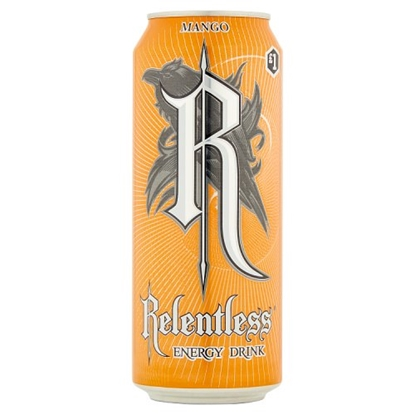 Picture of PM £1 RELENTLESS MANGO 500ML X 12