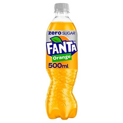 Picture of FANTA ORANGE *ZERO* 500ML BOTTLE X 12