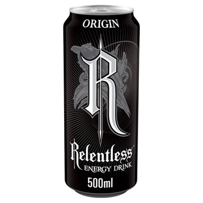 Picture of RELENTLESS ORIGIN 500ML CANS x 12