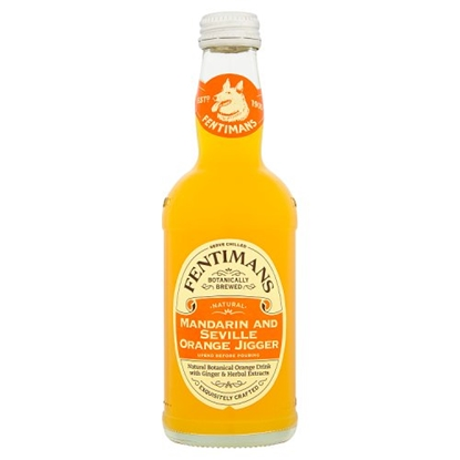 Picture of FENTIMANS MANDARIN & ORANGE 275MLS X 12