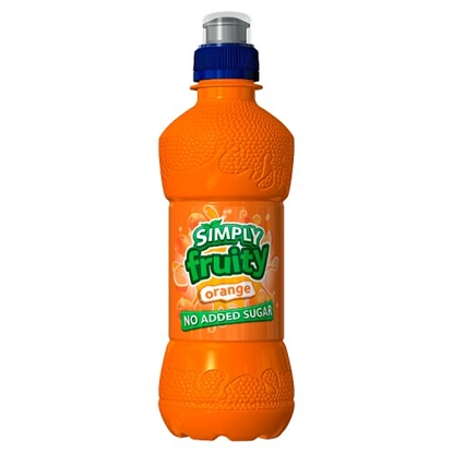 Picture of SIMPLY FRUITY ORANGE 330ML X 12