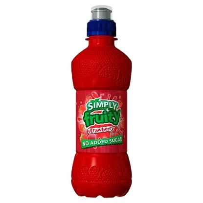 Picture of SIMPLY FRUITY STRAWBERRY 330ML X 12