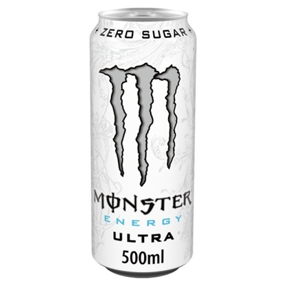 Picture of MONSTER ULTRA (WHITE) 500MLx12