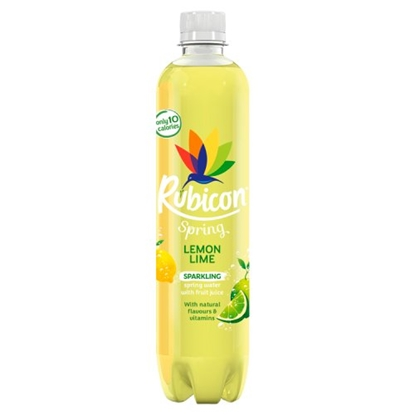 Picture of RUBICON SPRING LEMON & LIME 500ML X 12
