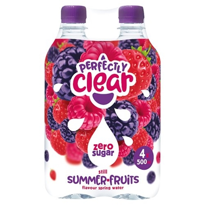 Picture of PERFECTLY CLEAR SUMMERFRUIT *4 PACK* 500ML X 6