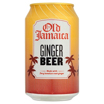 Picture of OLD JAMAICA GINGER BEER CAN 330MLx24