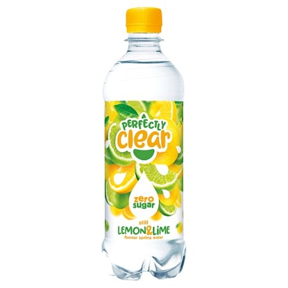 Picture of PERFECTLY CLEAR LEMON & LIME 500ML X 12