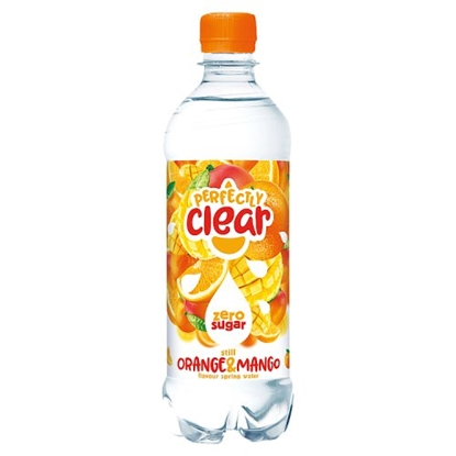 Picture of PERFECTLY CLEAR ORANGE & MANGO 500ML X 12