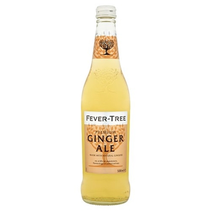 Picture of FEVER TREE GINGER ALE 500MLx8