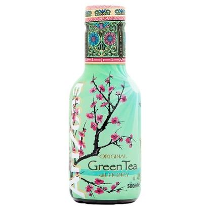 Picture of ARIZONA GREEN TEA & HONEY 500ML x 6