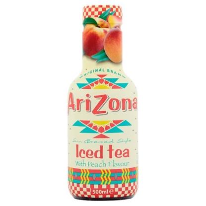 Picture of ARIZONA PEACH ICED TEA 500ML x 6