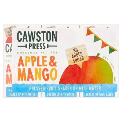 Picture of CAWSTON PRESS APPLE & MANGO KIDS 200MLx18