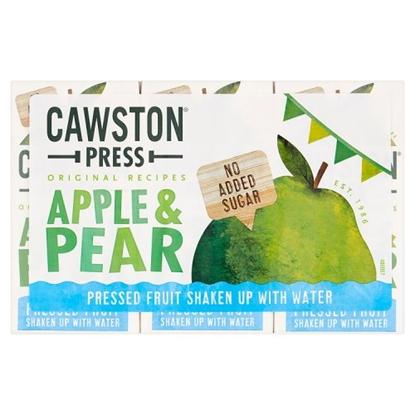 Picture of CAWSTON PRESS APPLE & PEAR KIDS 200MLx18