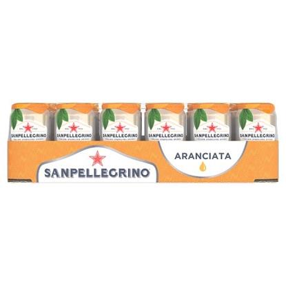 Picture of SAN PELLEGRINO ORANGE CANS 330ML x 24