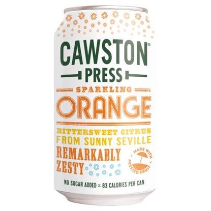 Picture of CAWSTON PRESS ORANGE 330ML CANS x 24