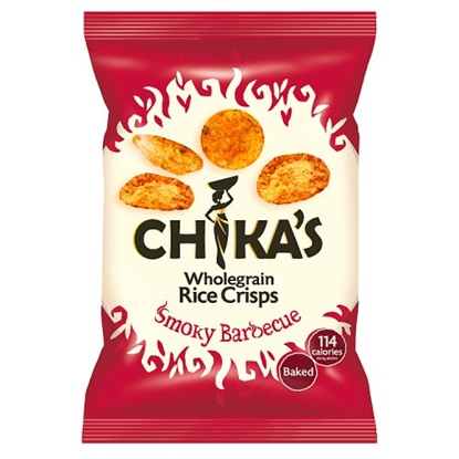 Picture of CHIKA'S SMOKY BBQ RICE CRISPS 25G X 16
