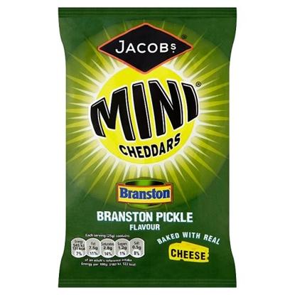 Picture of MINI CHEDDARS BRANSTON. PICK.BAG x30