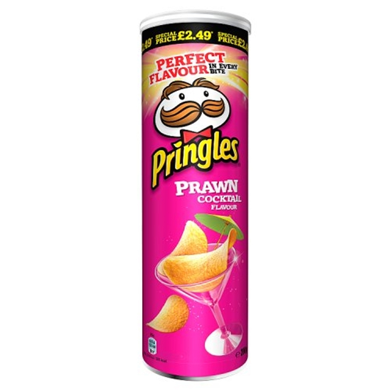 Picture of PM £2.99 PRINGLES PRAWN COCKTAIL 200G x 6
