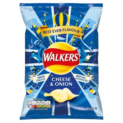 Picture of WALKERS CHEESE & ONION STD.x32