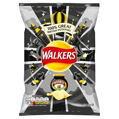 Picture of WALKERS MARMITE X 32