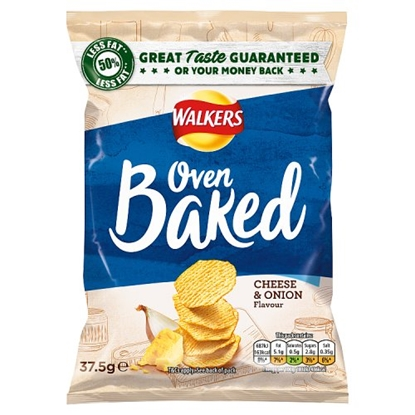 Picture of WALKERS *BAKED* CHEESE & ONION x32