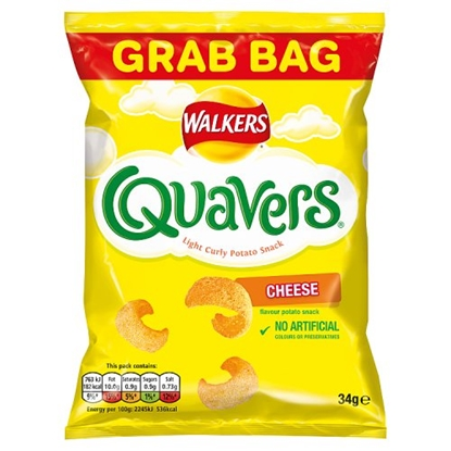 Picture of QUAVERS CHEESE *GRAB BAG* X 30