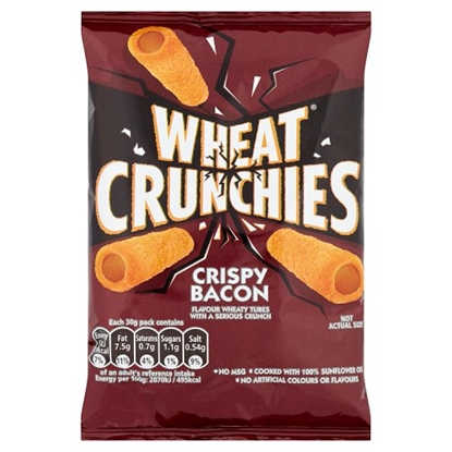 Picture of WHEAT CRUNCHIES BACON X 24