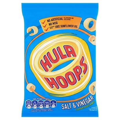 Picture of HULA HOOPS SALT & VINEGAR X 32