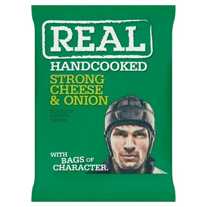 Picture of REAL CRISPS CHEESE & ONION 35G x 24