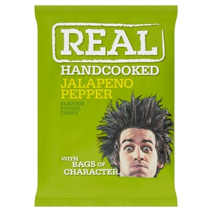 Picture of REAL CRISPS JALAPENO 35G X 24