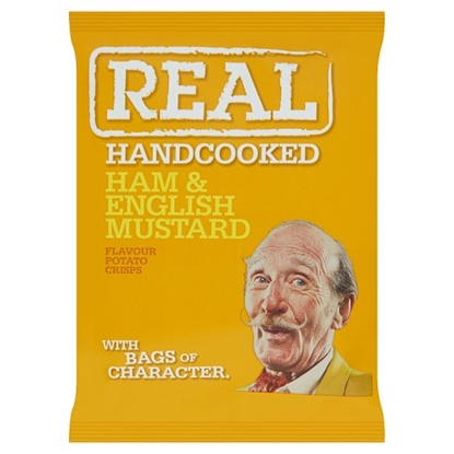 Picture of REAL CRISPS HAM & MUSTARD 35G X 24