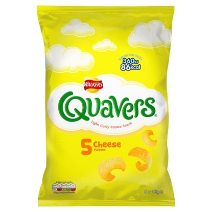 Picture of QUAVERS CHEESE 5 PACK X 28