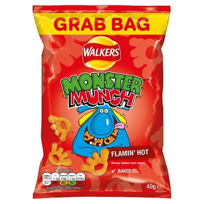 Picture of MEGA MONSTER MUNCH FLAMIN HOT x 30