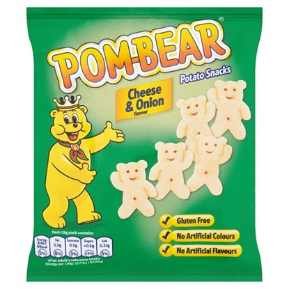 Picture of POM BEARS CHEESE & ONION X 36