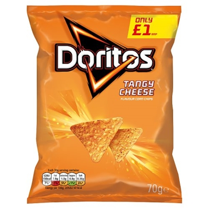 Picture of PM £1 DORITOS CHEESE 80G X 12