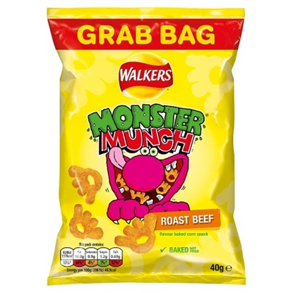 Picture of MEGA MONSTER MUNCH BEEF X 30