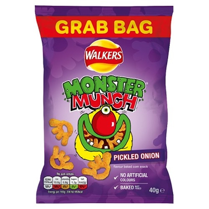 Picture of MEGA MONSTER MUNCH PICKLED ONION x 30