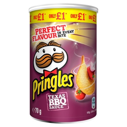Picture of PM £1 PRINGLES BBQ 70G  X 12