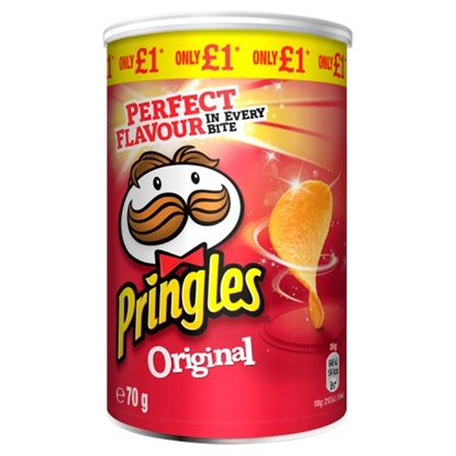 Picture of PM £1 PRINGLES ORIGINAL 70G X 12