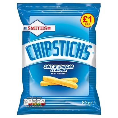 Picture of PM £1 CHIPSTICKS SALT & VINEGAR 82G X 15
