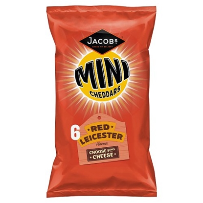 Picture of MINI CHEDDARS RED LEICESTER 6PK X 12