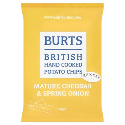 Picture of *150G* BURTS CHEDDAR & SPRING ONION x10