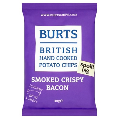 Picture of BURTS SMOKED CRISPY BACON 40G X 20