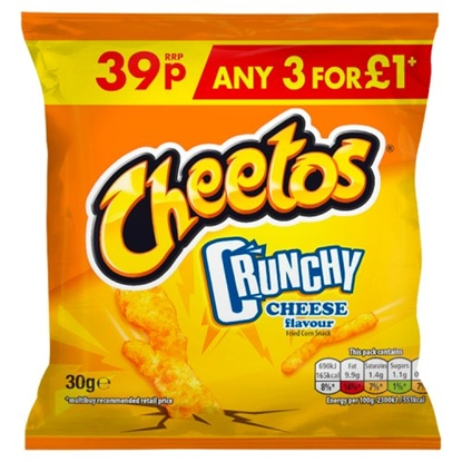 Picture of PM 39P CHEETOS CRUNCHY CHEESE x 30