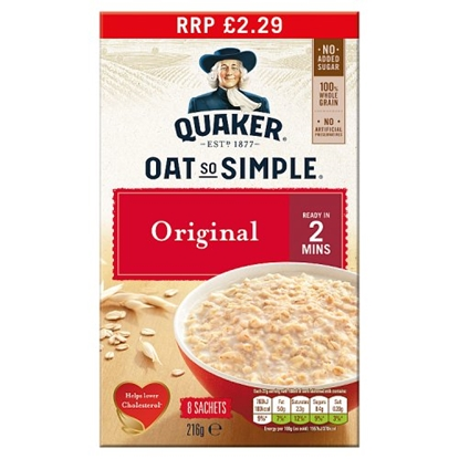 Picture of PM £2.29 OAT SO SIMPLE ORIGINAL 216G X 6