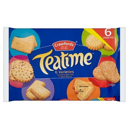 Picture of PM £1 CRAWFORDS TEATIME ASSORTED 275G X 10